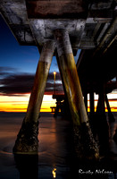 Light Painting Venice Pier by Rusty Nelson