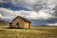 Old Farm Storage Building Bodie California
